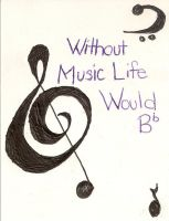 Without Music... by xDeathsGirlx