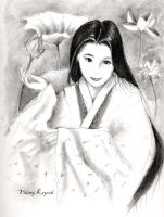 Traditional Japanese Girl by LittlePow