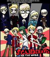 SCANDINAVIA VS. THE WORLD by SpinningAxis