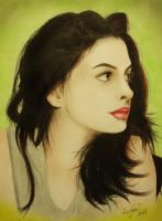 Anne Hathaway by zied8008