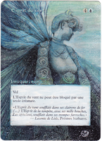 Altered card - Wind Spirit by JohannesVIII