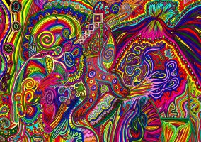 Psychedelic 221 by CHoare