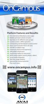 OnCampus Vertical Banner by carbonism