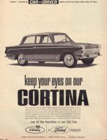 Ford Cortina by HarvestmanMan
