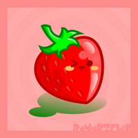 Sweet Strawberry by BluNiebieski