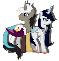 GIFT: Chaotic and Harmony by iPandacakes