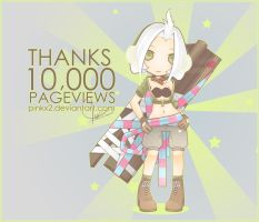 Ruenis : Thanks 10k Pviews by pinkx2