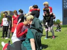 Anime North 2013 - Dave and Sollux 7 by EZsCosplays