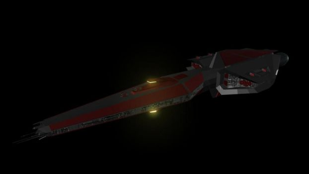 Taur'Ohtar class Destroyer by thelordofstorms