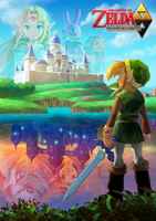 The Legend of Zelda: A Link Between Worlds for 3DS by Legend-tony980