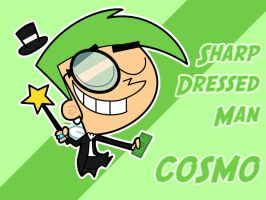 Cosmo - Sharp Dressed Man by Fibz