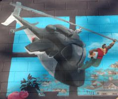 mural detail: Mr. T by nosepilot