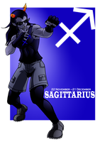 You Are Sagittarius by chickenMASK