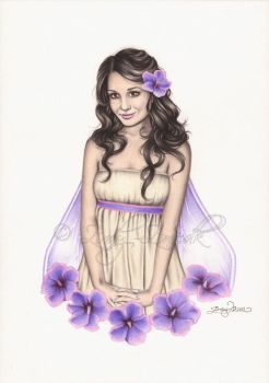 Hibiscus Fairy by Zindy