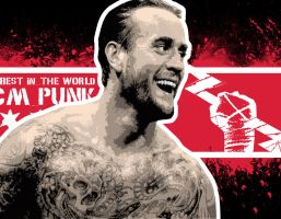 CM Punk - Best in the World by mavd29
