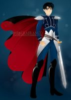 Prince Endymion from Sailor Moon by paufranco