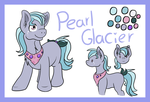 Pearl Glacier Small Ref [Commission] by lavacookiie