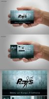 Pontons Buisness Card by treconor