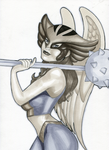 Hawkgirl by Indy-Lytle