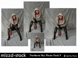 Northern Sky Pirate Pack 9 by mizzd-stock