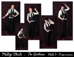 The Gentleman Pack 3 by Meltys-stock