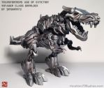 AOE Voyager Grimlock Repaint by timshinn73