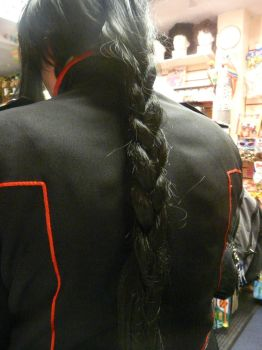 Kanda's plaited hair by NorthEast-Cosplayers