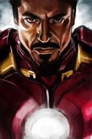 Iron Man 2: Robert Downey Jnr by stokesbook