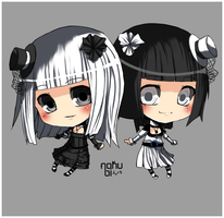 Twin commission by Nakubi