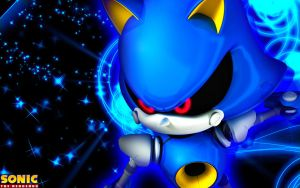 Metal Sonic Wallpaper by SonicTheHedgehogBG