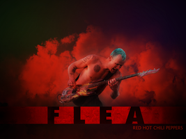 Flea (Red Hot Chili Peppers) by SharmaJenkins
