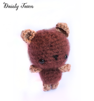 Brown Bear Amigurumi by candypow