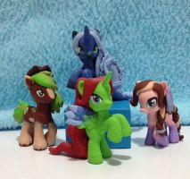 My blind bag collection by Whysteria