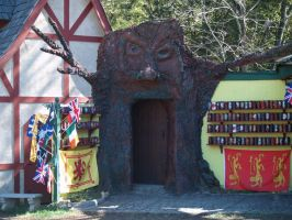 booth at the faire by Irie-Stock