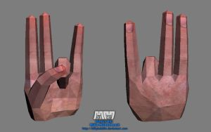 The Shocker Hand 'Assembled' by billybob884