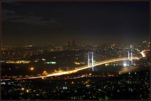 lights of Istanbul by morphadron