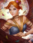 Forest Angel by Kittrix