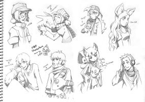 UBF characters part2 by Lumaga