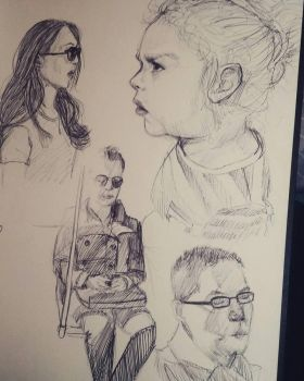Life Sketches by LennyBug