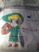 Toon Link and Navi by Creepergamer12
