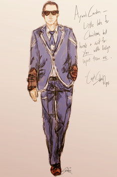 Coulson's Suit by Abbysaurus