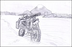 Motorcycle Study by Reliquo