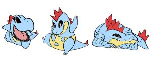 totodile lineup by deadheaven