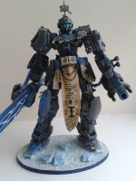 Frost Sentinel Dreadknight - front by WoodlandHermit