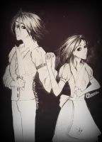 Alice and Alan Liddell by C-hrona