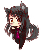 Chibi Lisa (B-day Gift) by Kikaru-StudioS