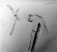 Pliers and Hammer by Daniel-Storm