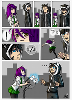 Manga collab with MrtViolet by FixelCat