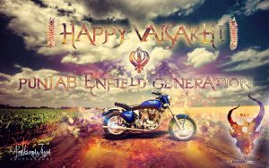 Happy Vaisakhi by Janjua