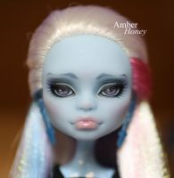 Abbey repaint - detail I by Amber-Honey